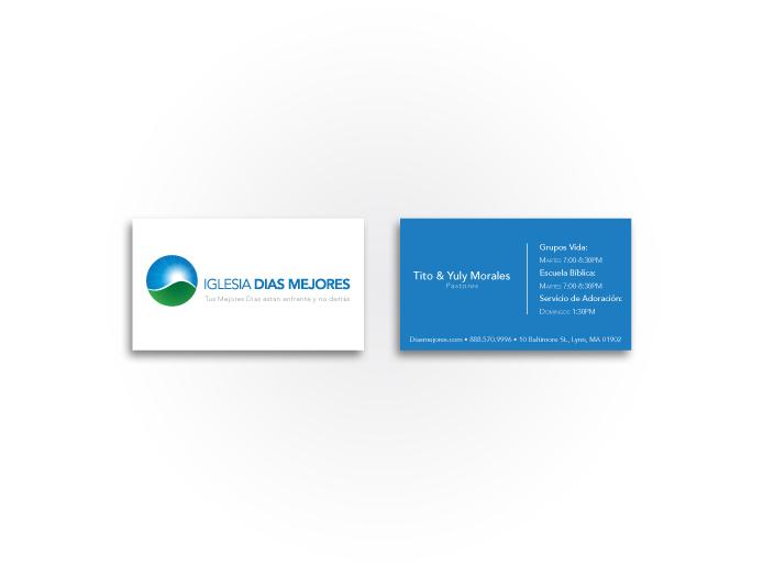 Iglesia Dias Mejores Business Card