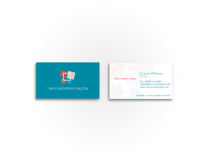 The Children's Piazza Business Card
