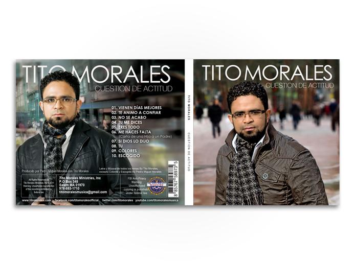 Tito Morales Cuestion de Actitud Cover